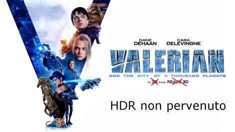 Valerian 4K ritirato