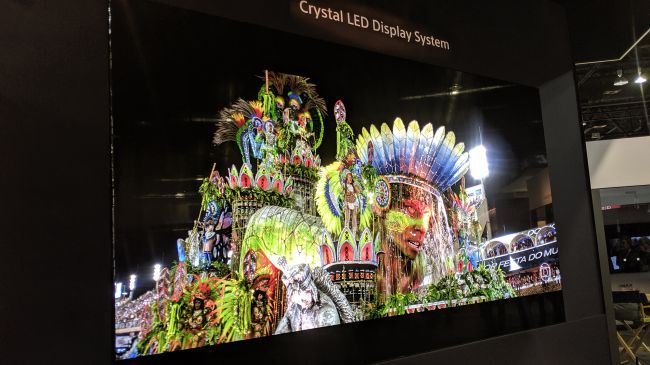 Crystal LED
