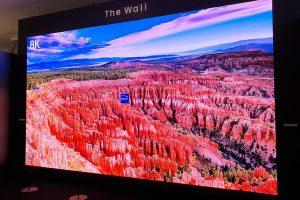 Il Samsung The Wall for Business fa paura: 583 pollici e risoluzione 8K