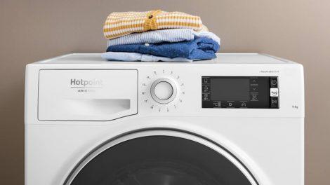 Da Hotpoint la lavatrice Active 20°