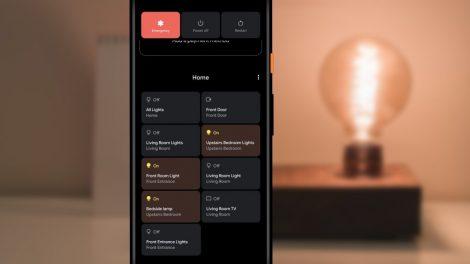 Android 11 beta e controlli smart home