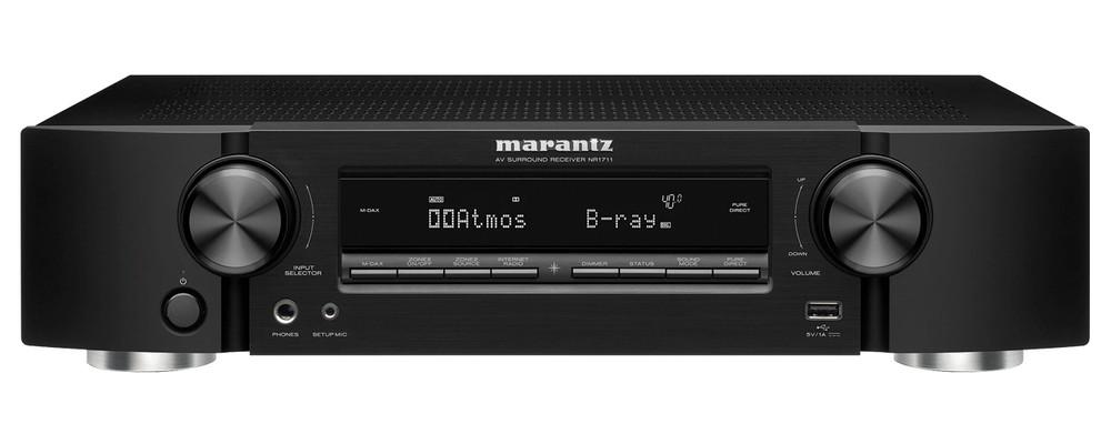 Marantz NR1711: il sintoamplificatore AV HDMI 2.1 si fa slim