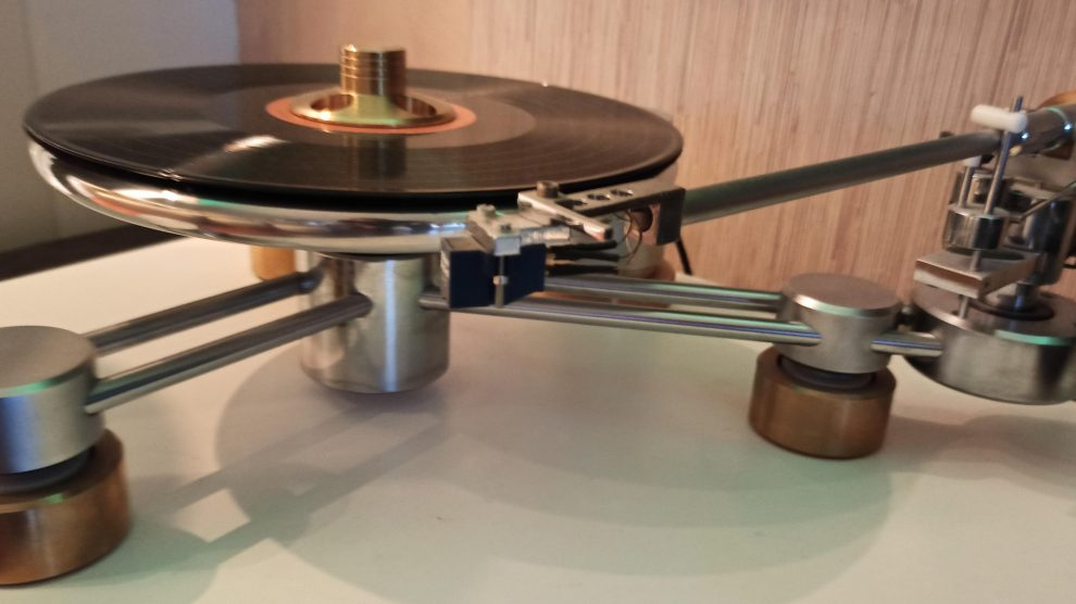 Full Metal Jacket: Sistema Klimo Musikant giradischi BEORDE e Braccio BLIANT