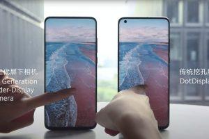 Xiaomi - Terza generazione dell'under-display camera