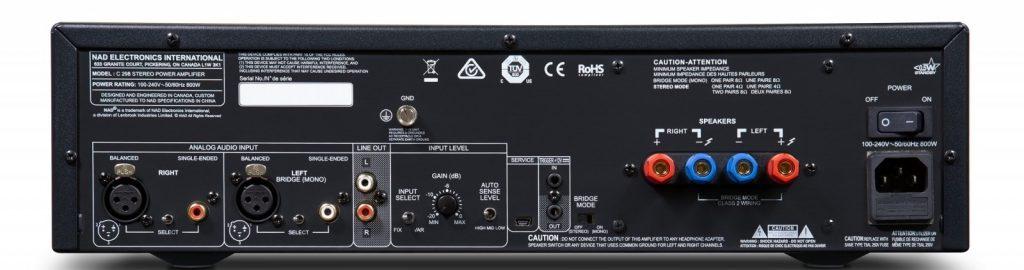 NAD C 298: nuovo finale stereo in Classe D da 185W