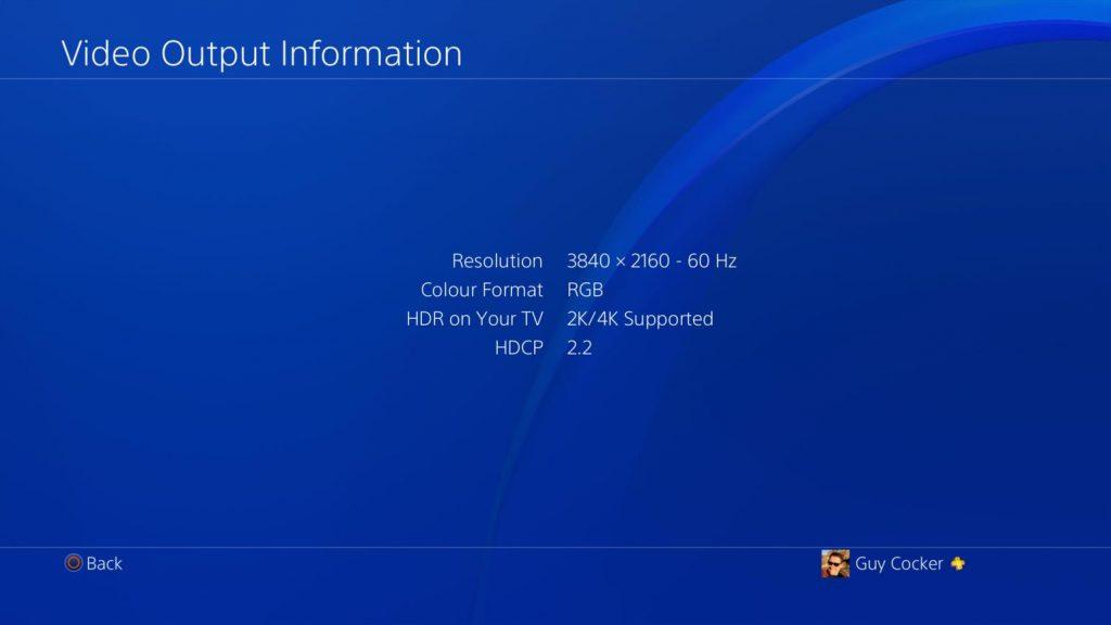 Tutto sul 4K nativo e non di PS4 Pro