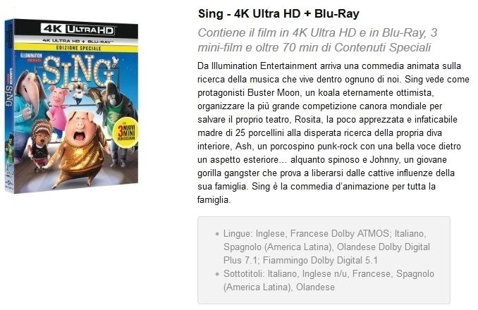 Audio HD nelle edizioni italiane: qual è lo status?