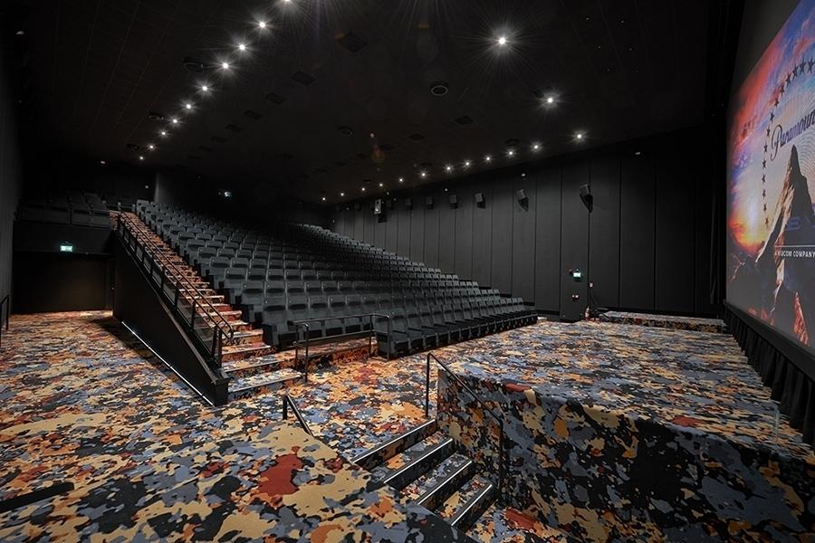 dolby atmos sala cinema