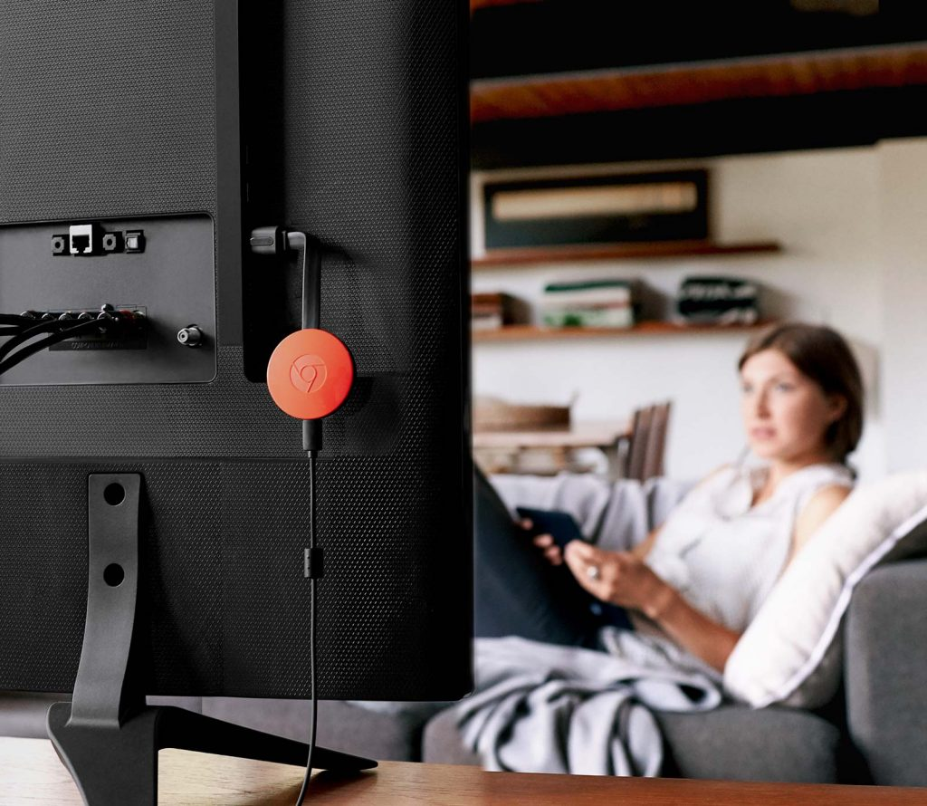 Arriva Google Chromecast Ultra