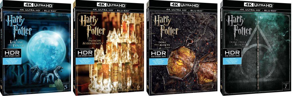 Harry Potter 4K UHD marzo 2017