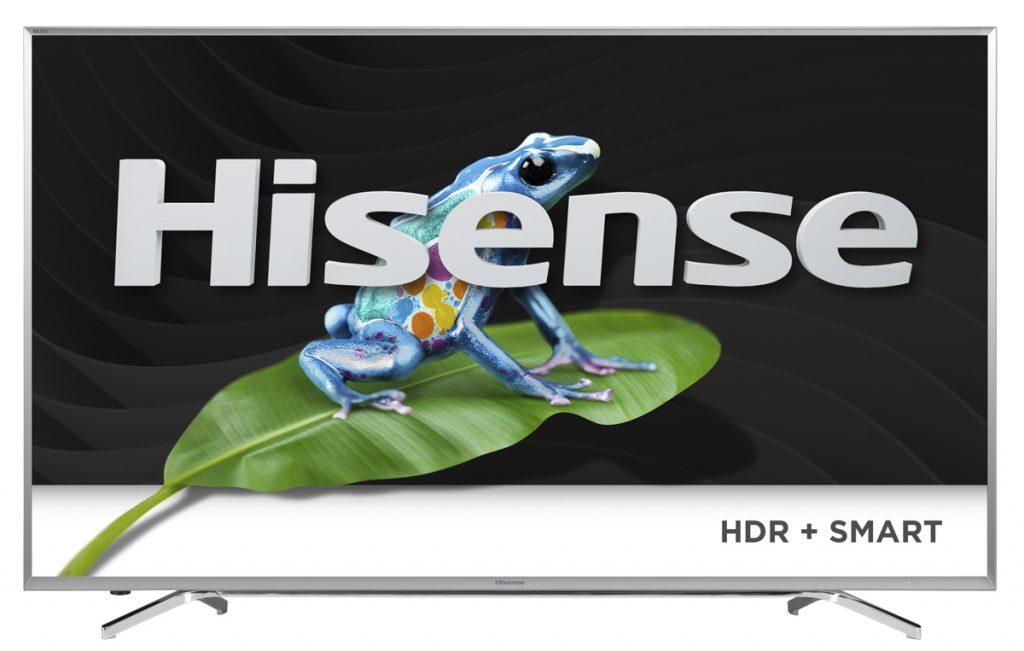 Hisense scatenata sui TV di grande formato