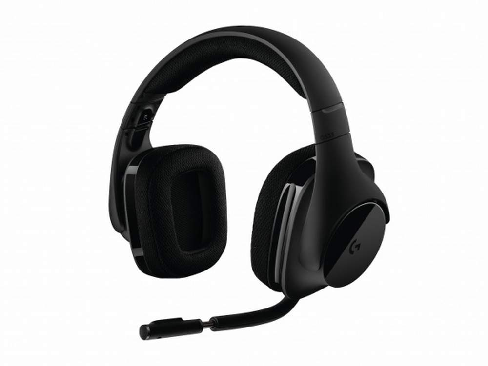 Logitech G533, le cuffie da gioco wireless con Surround 7.1