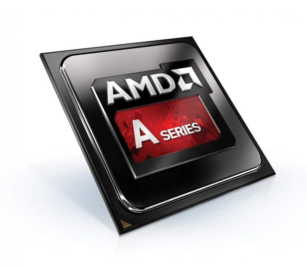 AMD a series white chip