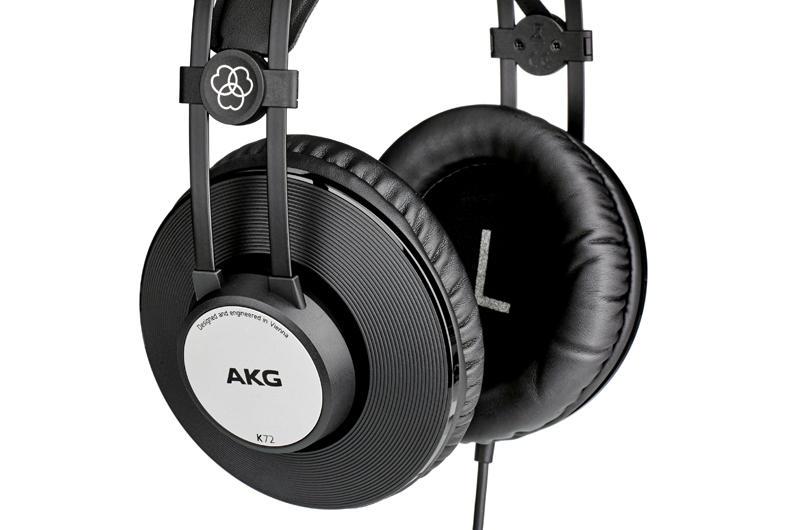 AKG K72: le cuffie da studio che non temono la stanchezza
