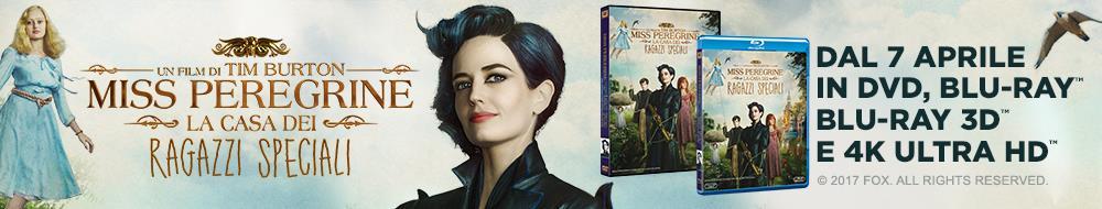 Miss Peregrine - La casa dei ragazzi speciali [UHD & Blu-ray]