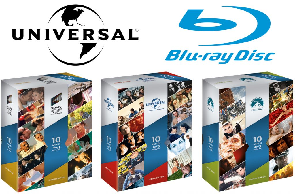 10 anni Blu-ray intervista Universal