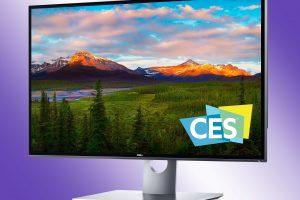 Dell Monitor 8K CES 2017