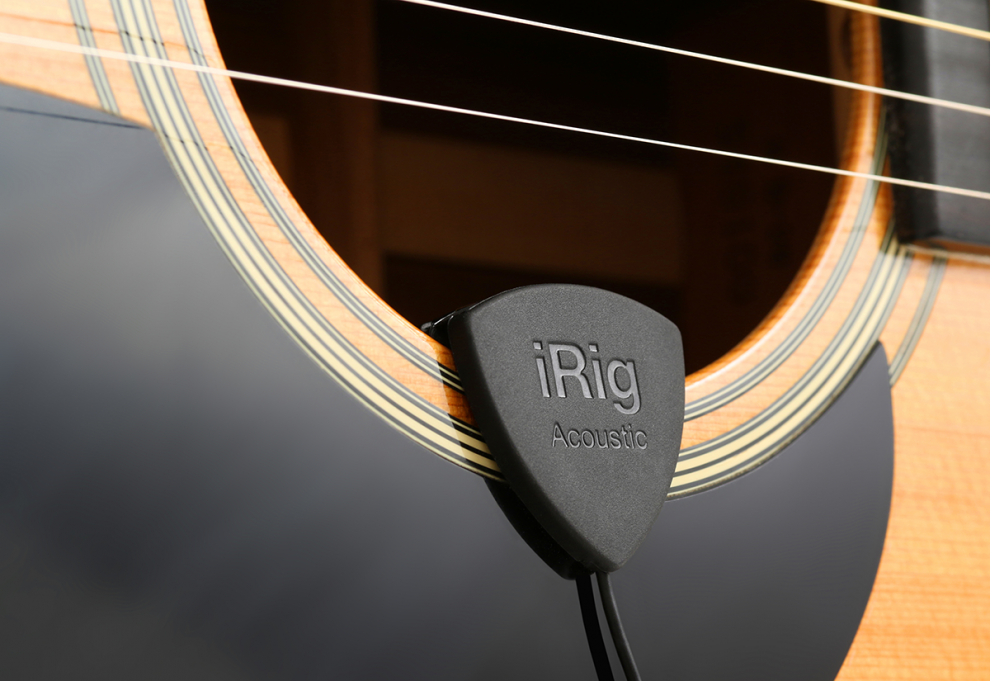 A tutta musica con iRig Acoustic Stage e iRig PRO I/O