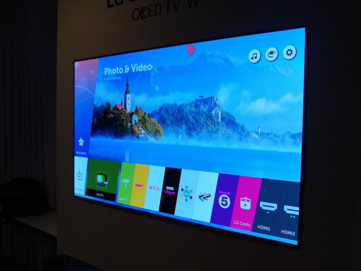 LG W7: il TV OLED delle meraviglie