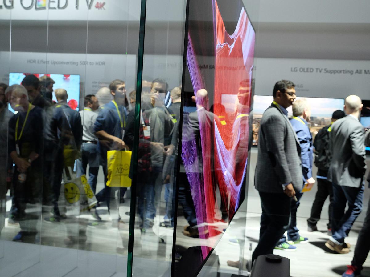LG OLED W7 - CES 2017