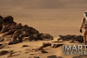 The Martian VR Experience: PS4 vi abbandona su Marte